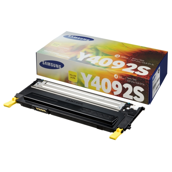Oryginalny Samsung CLTY4092SELS / Y4092S Toner zólty