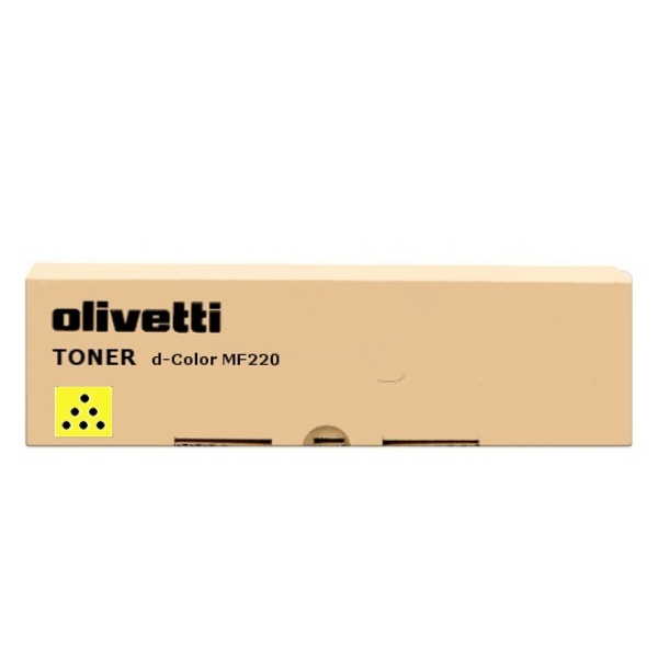 Original Olivetti B0855 Toner gelb