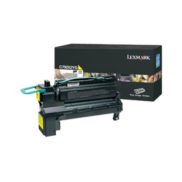 Original Lexmark C792X2YG Toner gelb