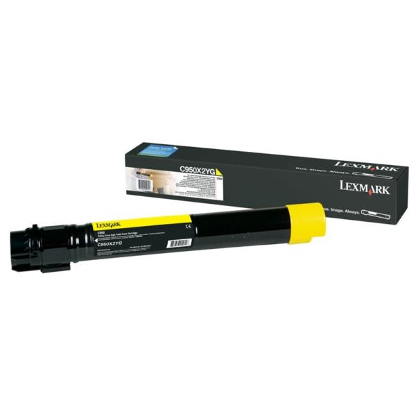 Original Lexmark C950X2YG Toner gelb