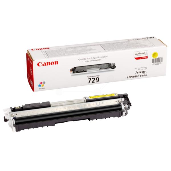 Original Canon 4367B002 / 729Y Toner gelb