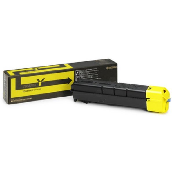 Original Kyocera 1T02K9ANL0 / TK8705Y Toner gelb