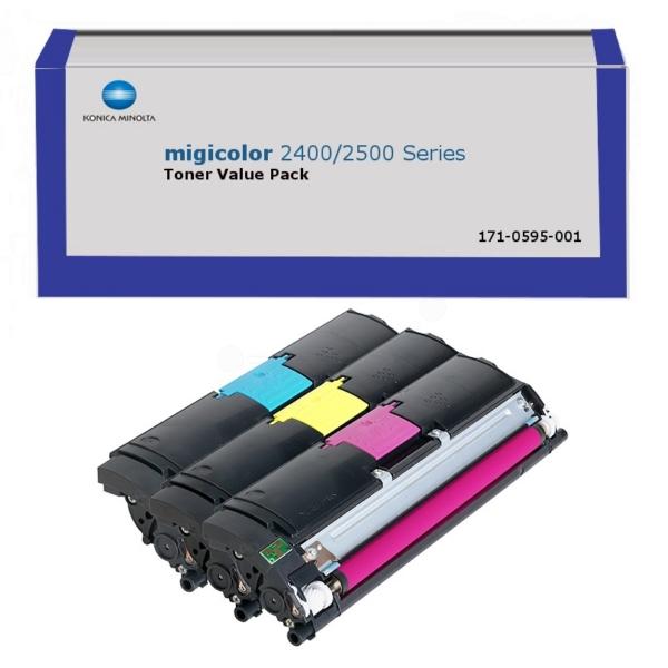 Original Konica Minolta A00W012 / 1710595001 Toner MultiPack