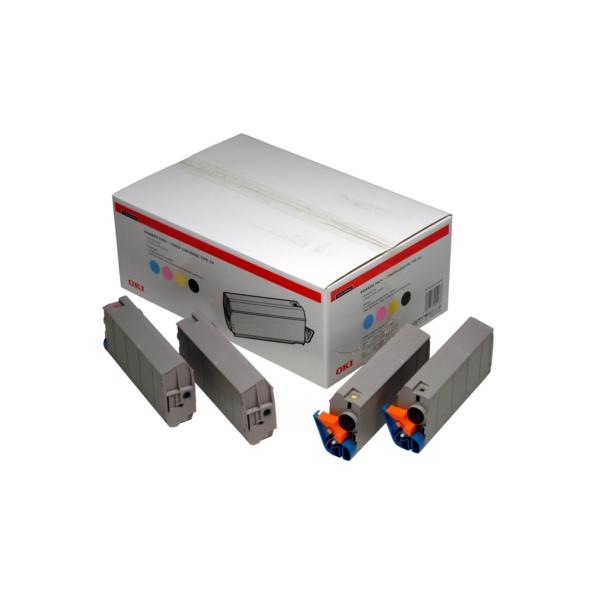 Original OKI 01101001 Toner MultiPack