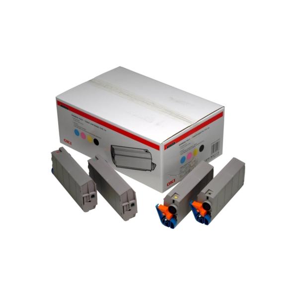 Original OKI 01101101 / C5 Toner MultiPack