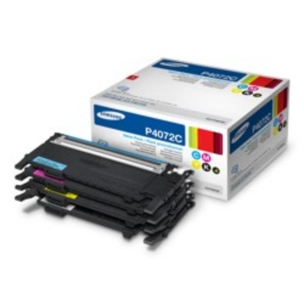 Oryginalny Samsung CLTP4072CELS / P4072C Wielopak tonerów