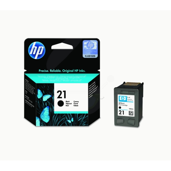 Original HP C9351AE / 21 Printhead black