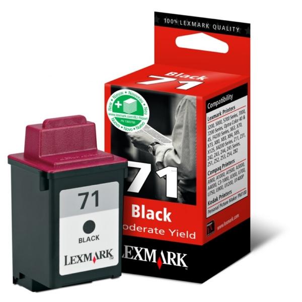 Original Lexmark 15MX971E / 71 Druckkopf schwarz