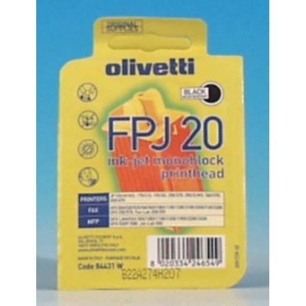 Original Olivetti B0384 / FPJ20 Tête d'impression noire