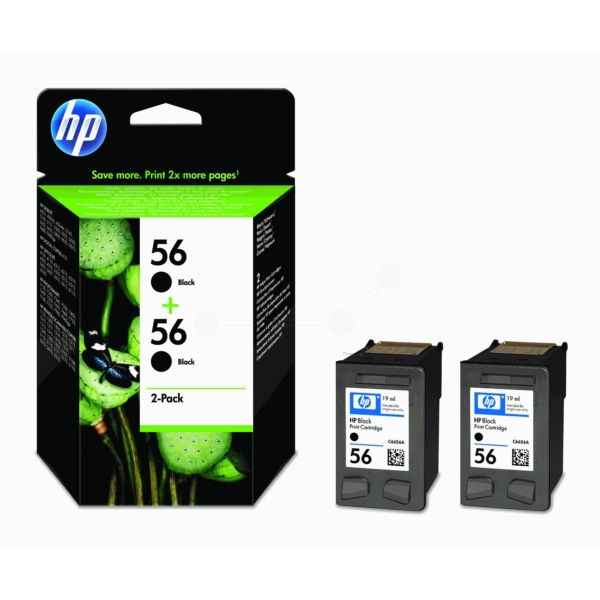 Original HP C9502AE / 56 Printhead black