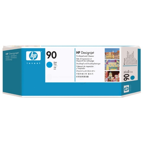 Original HP C5055A / 90 Printhead cyan