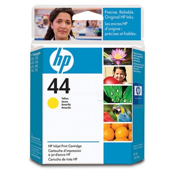 Original HP 51644YE / 44 Druckkopf gelb