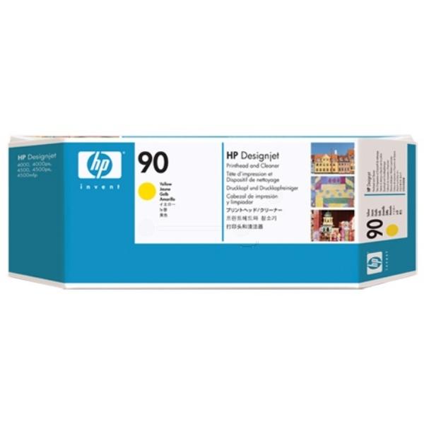 Original HP C5057A / 90 Printhead yellow