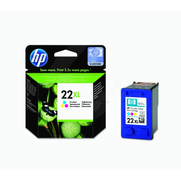 Original HP C9352CE / 22XL Printhead color