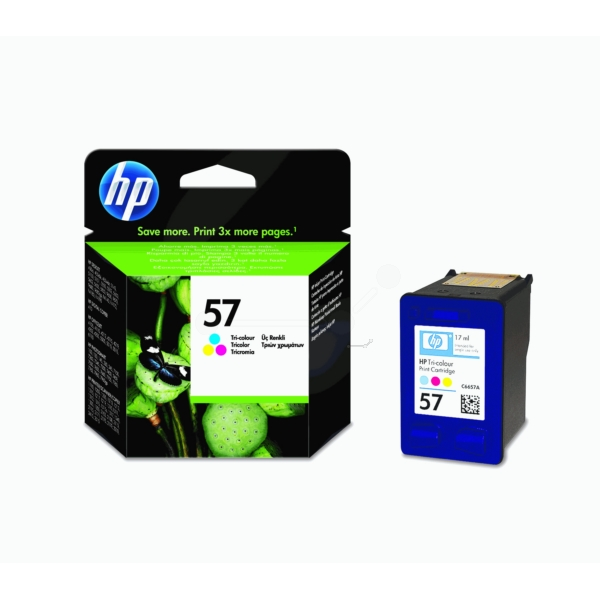 Original HP C6657AE / 57 Druckkopfpatrone color