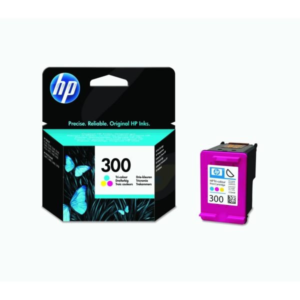 Original HP CC643EE / 300 Druckkopfpatrone color