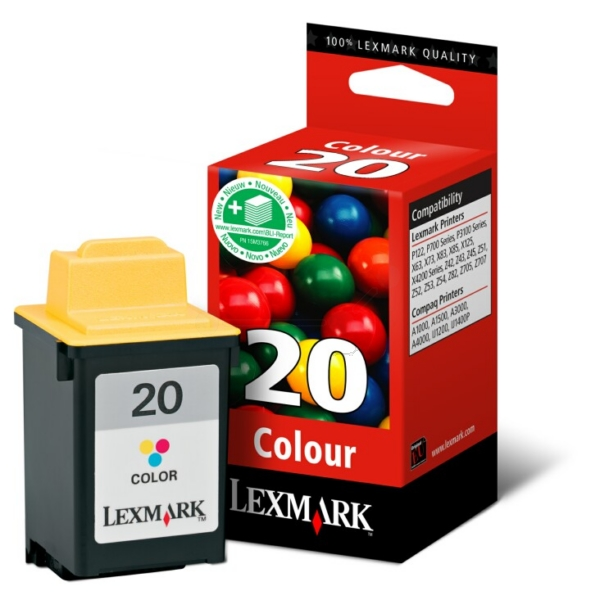 Original Lexmark 15MX120E / 20HC Druckkopf color