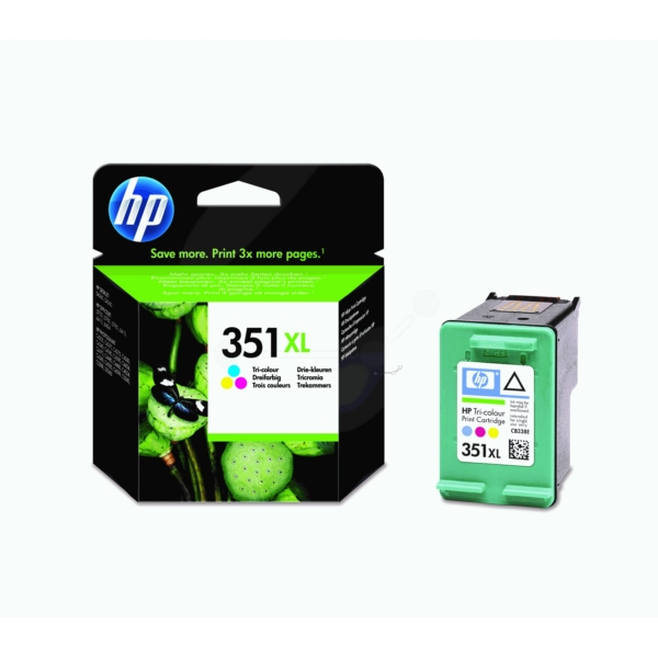 Original HP CB338EE / 351XL Tête d'impression couleur