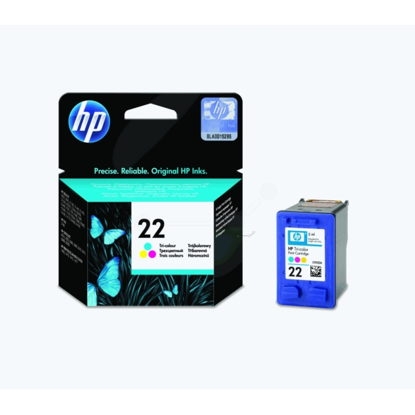 Original HP C9352AE / 22 Tête d'impression couleur
