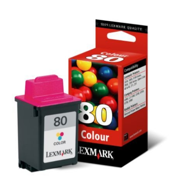 Originale Lexmark 12A1980E / 80 Testina di stampa colore