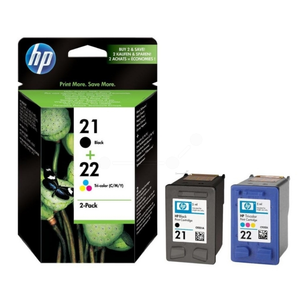 Original HP SD367AE / 21+22 Printhead multi pack