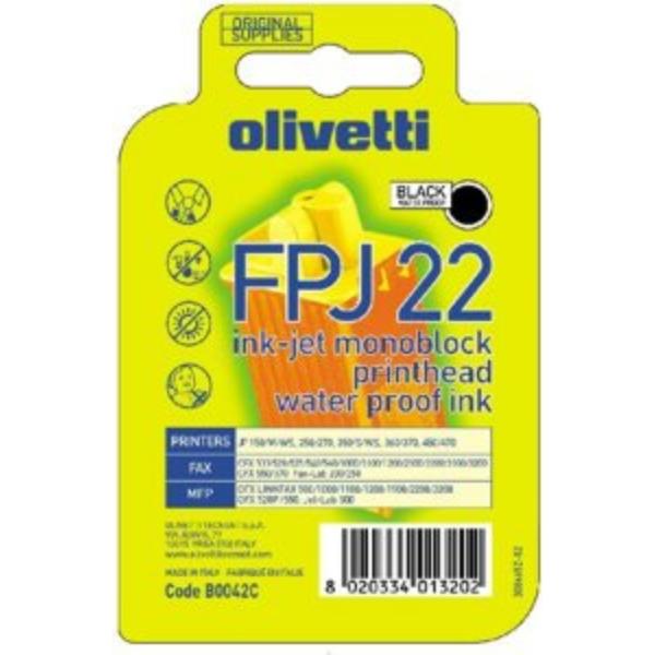 Original Olivetti B0042 / FPJ22 Tintenpatrone schwarz