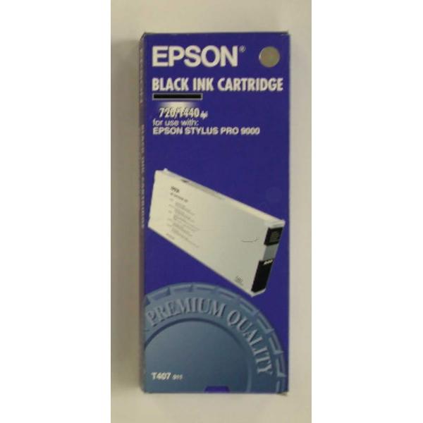 Original Epson C13T407011 / T407 Tintenpatrone schwarz