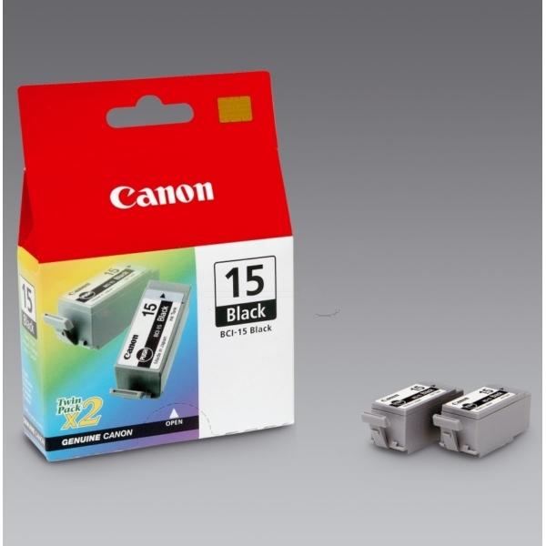 Original Canon 8190A002 / BCI15BK Tintenpatrone schwarz
