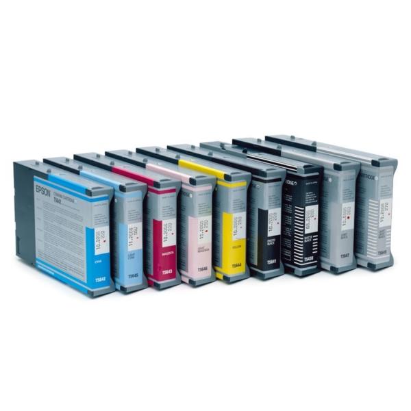Original Epson C13T605100 / T6051 Tintenpatrone schwarz