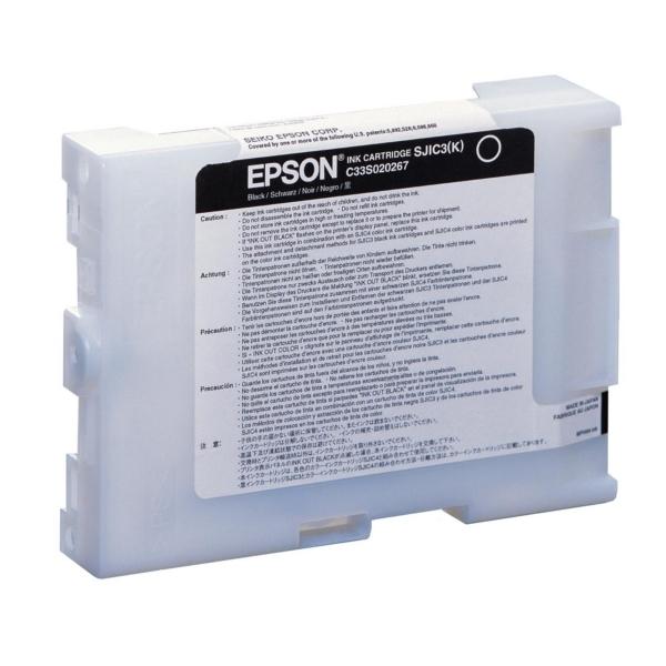 Original Epson C33S020267 / SJIC3K Tintenpatrone schwarz