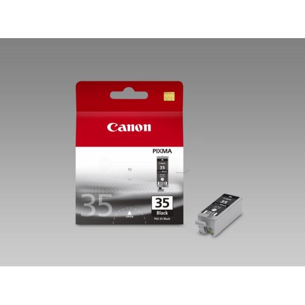 Original Canon 1509B001 / PGI35BK Tintenpatrone schwarz