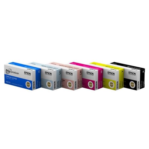Original Epson C13S020452 / PJIC6 Tintenpatrone schwarz