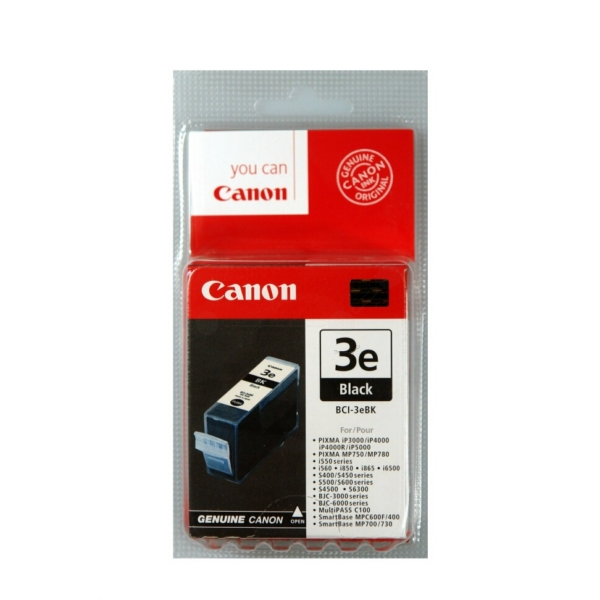 Original Canon 4479A002 / BCI3EBK Ink cartridge black