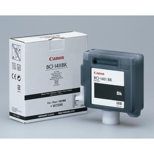 Original Canon 7574A001 / BCI1411BK Tintenpatrone schwarz