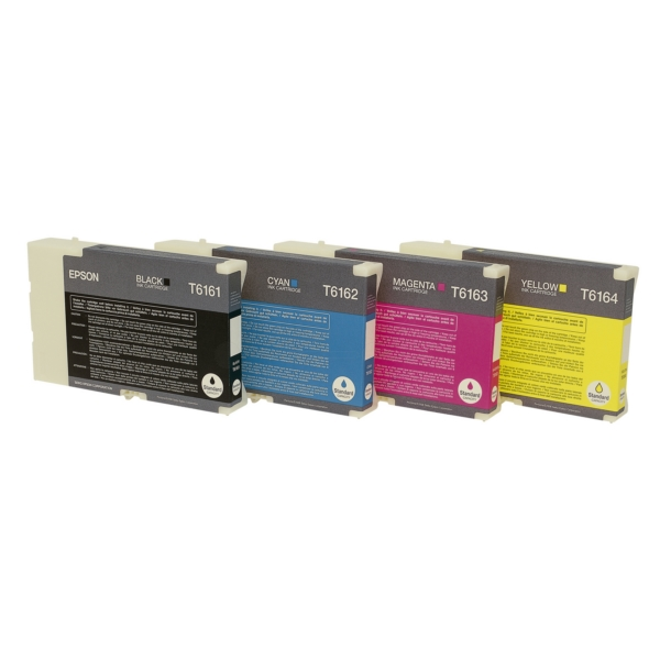 Original Epson C13T616100 / T6161 Tintenpatrone schwarz