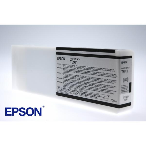 Original Epson C13T591100 / T5911 Tintenpatrone schwarz
