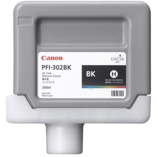 Original Canon 2216B001 / PFI302BK Tintenpatrone schwarz