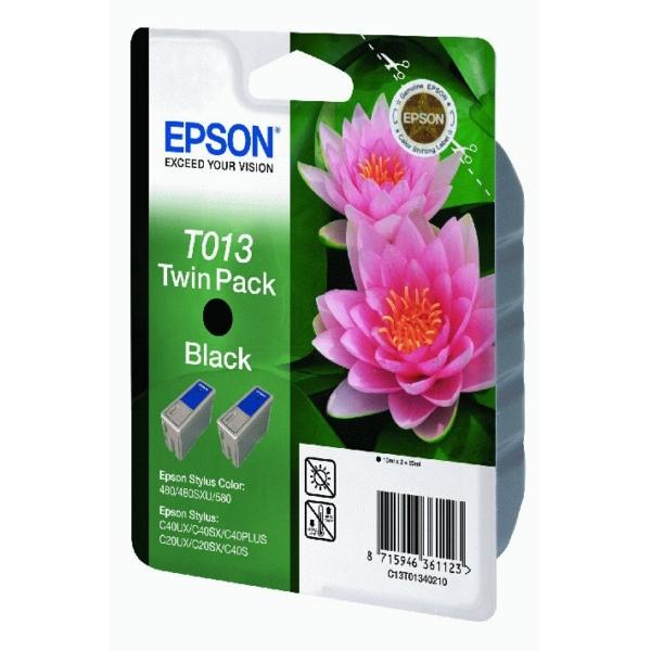 Original Epson C13T01340210 / T013 Tintenpatrone schwarz
