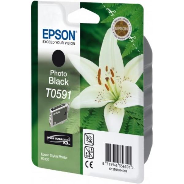 Original Epson C13T05914010 / T0591 Tintenpatrone schwarz