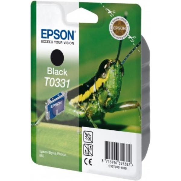 Original Epson C13T03314010 / T0331 Tintenpatrone schwarz