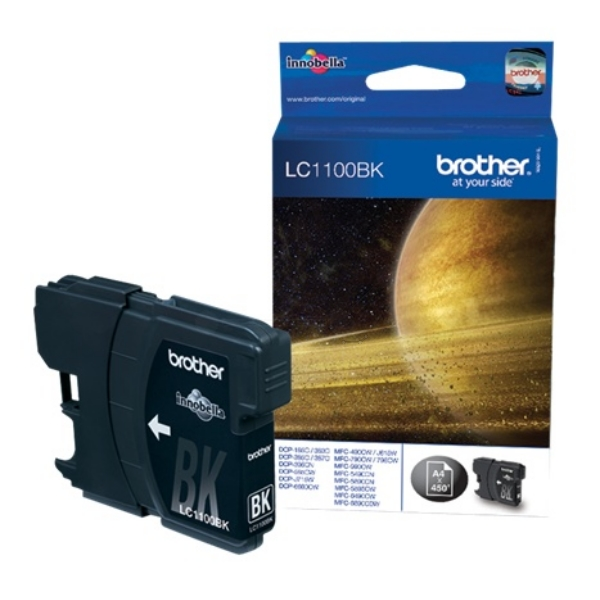 Original Brother LC1100BK Ink cartridge black