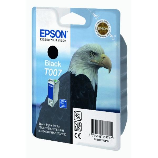 Original Epson C13T00740110 / T007 Tintenpatrone schwarz