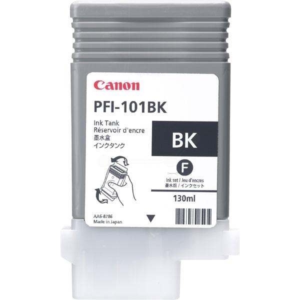 Original Canon 0883B001 / PFI101BK Tintenpatrone schwarz