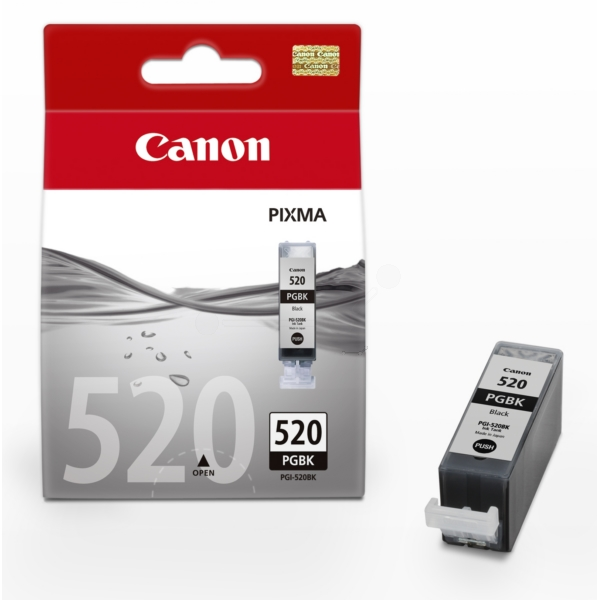 Original Canon 2932B001 / 520PGBK Ink cartridge black