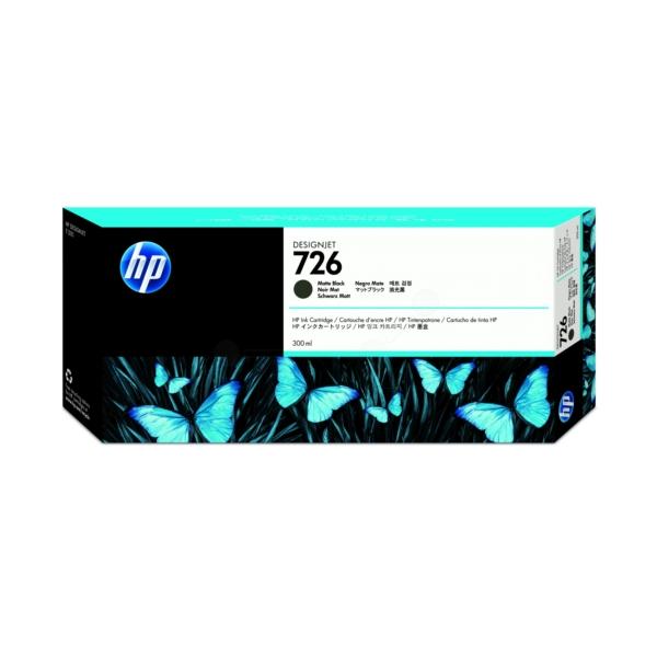 Original HP CH575A / 726 Tintenpatrone schwarz matt