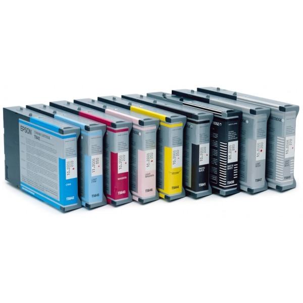 Original Epson C13T543800 / T5438 Tintenpatrone schwarz matt