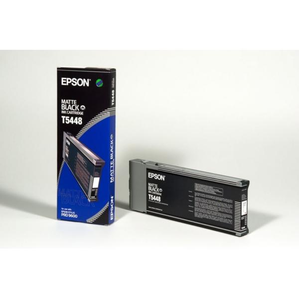 Original Epson C13T544800 / T5448 Tintenpatrone schwarz matt
