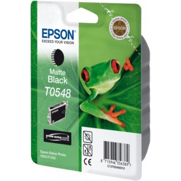 Original Epson C13T05484010 / T0548 Tintenpatrone schwarz matt