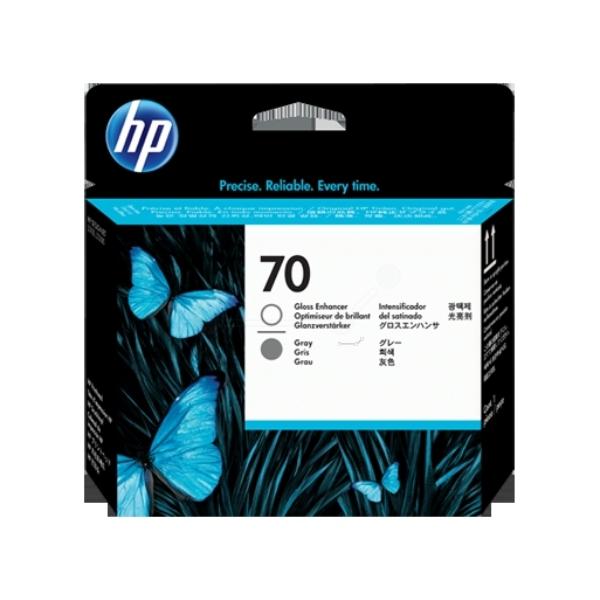 Original HP C9410A / 70 Tintenpatrone grau