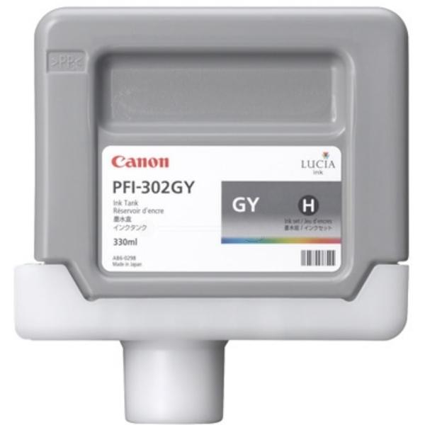 Original Canon 2217B001 / PFI302GY Tintenpatrone grau